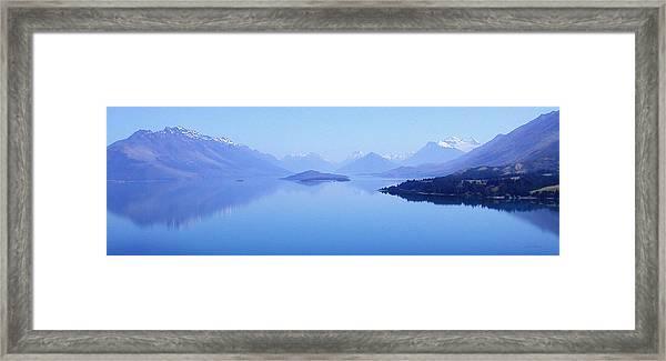 Lake Glenorchy New Zealand Framed Print