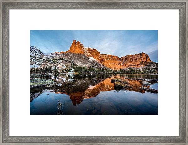 Lake Helene Framed Print by Robert Yone