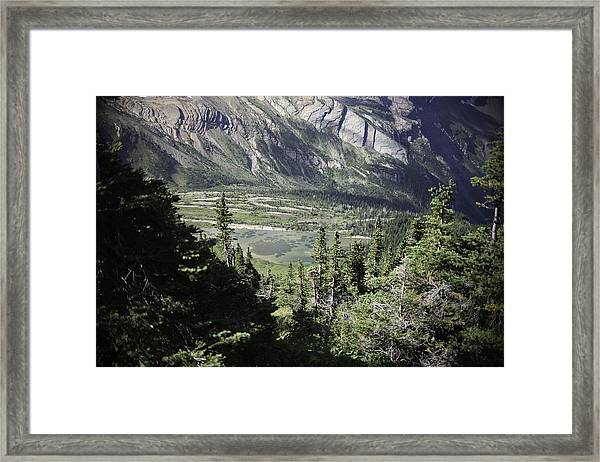 Lake Mary Baker In Floral Park Framed Print