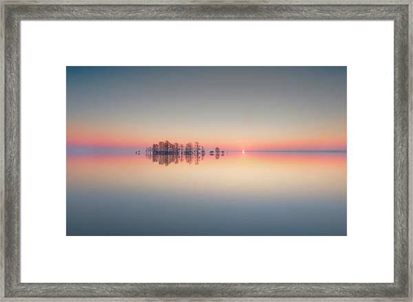 Lake Mattamuskeet Memory Framed Print by Liyun Yu