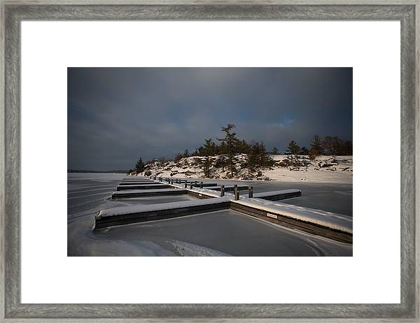 Lake Muskoka Framed Print