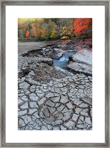 Lake No More Framed Print