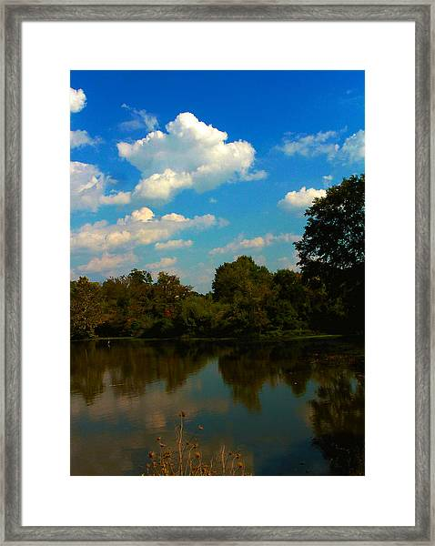 Lake Reflections Framed Print