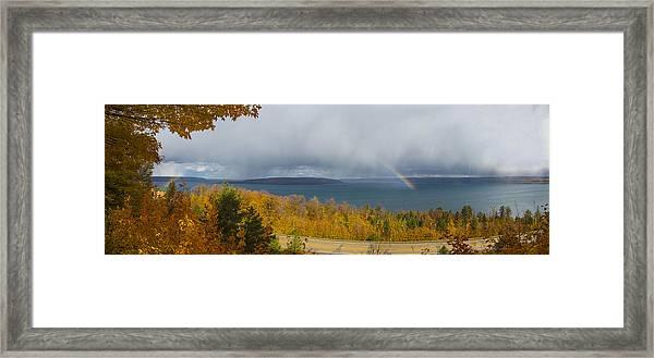 Lake Superior Overlook Framed Print