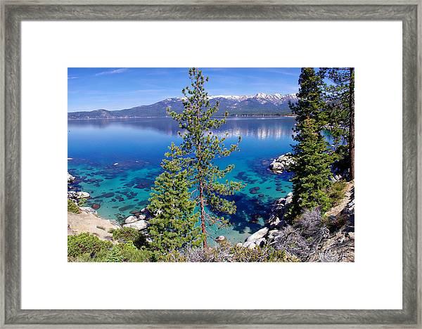 Lake Tahoe Beauty Framed Print