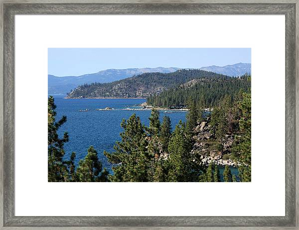 Lake Tahoe Nevada Framed Print
