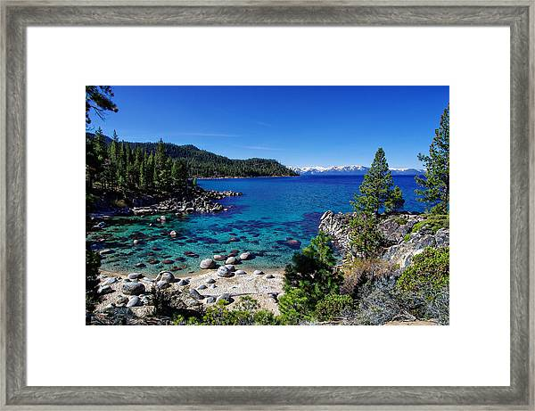Lake Tahoe Springscape Framed Print
