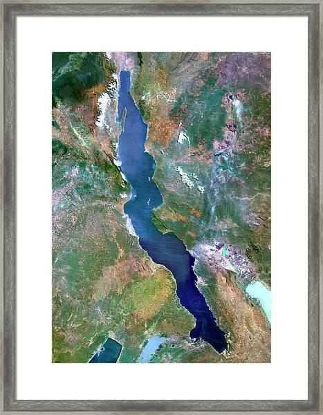 Lake Tanganyika Framed Print