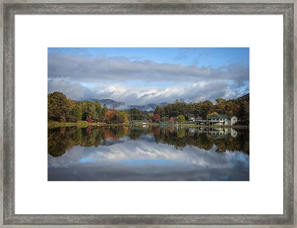 Lake Tomahawk Framed Print