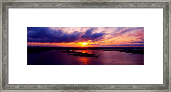 Lake Travis 101112 Framed Print
