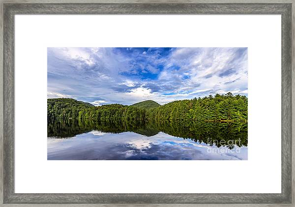 Unicoi Lake Framed Print