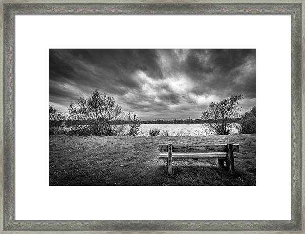 Lake View. Framed Print