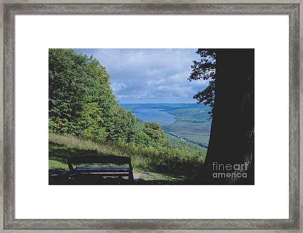 Lake Vista Framed Print