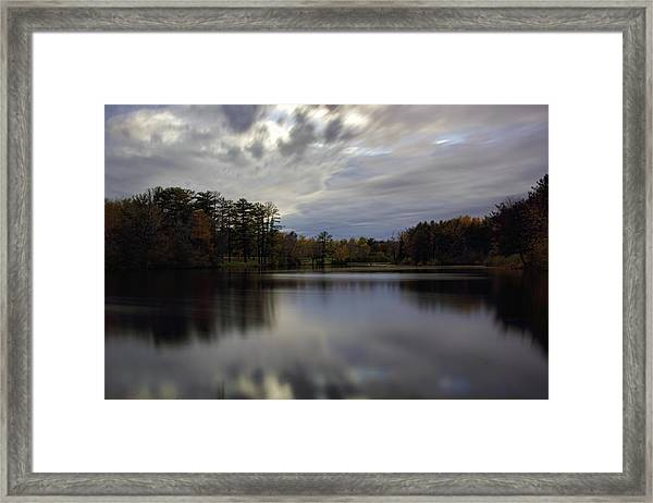 Lake Wausau's Bluegill Bay Park Framed Print