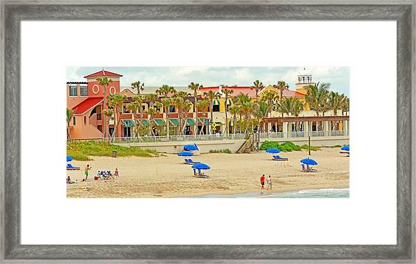 Lake Worth Casino Framed Print
