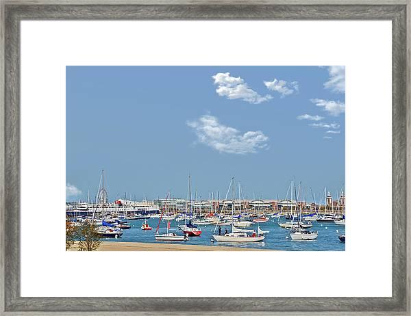 Lakefront Chicago Framed Print