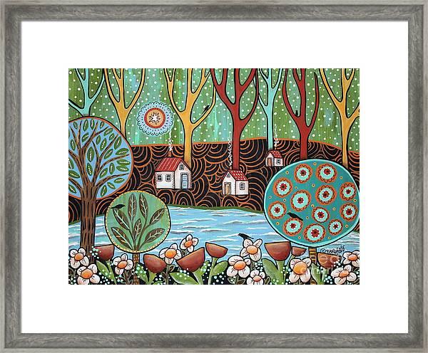 Lakeside1 Framed Print