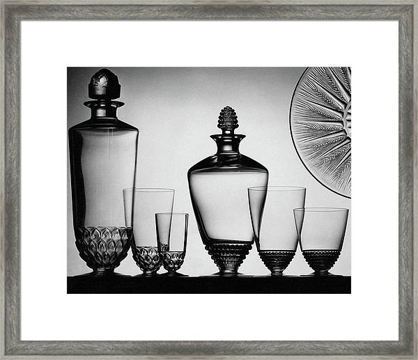 Lalique Glassware Framed Print