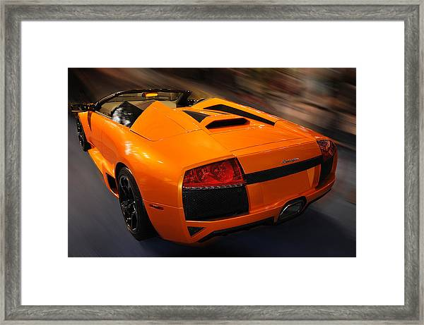 Lamborghini Murcielago 3 Framed Print