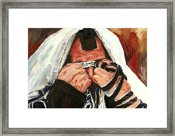 Lamentations Framed Print