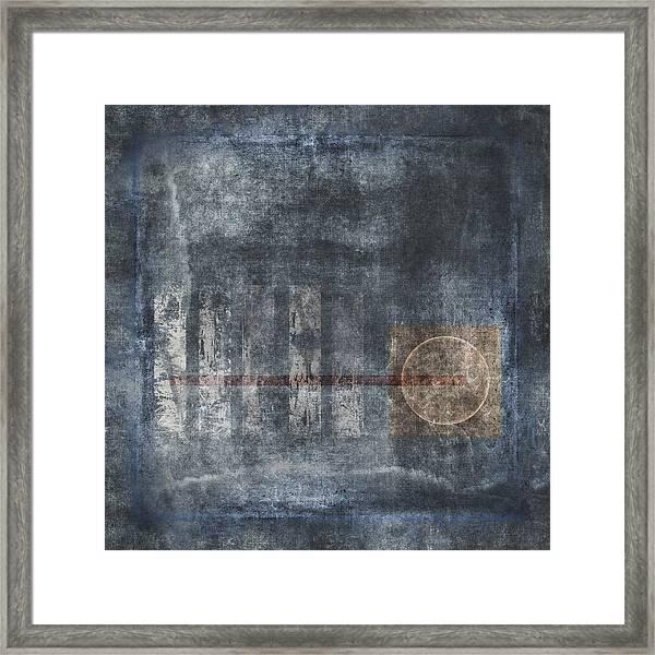 Land Bridge Framed Print