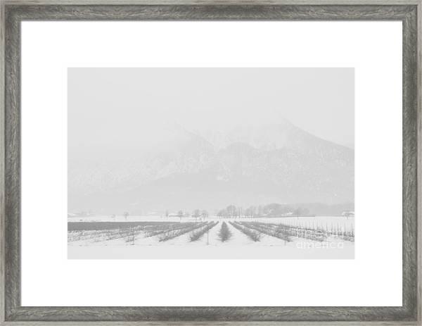 Land Of Snow Framed Print