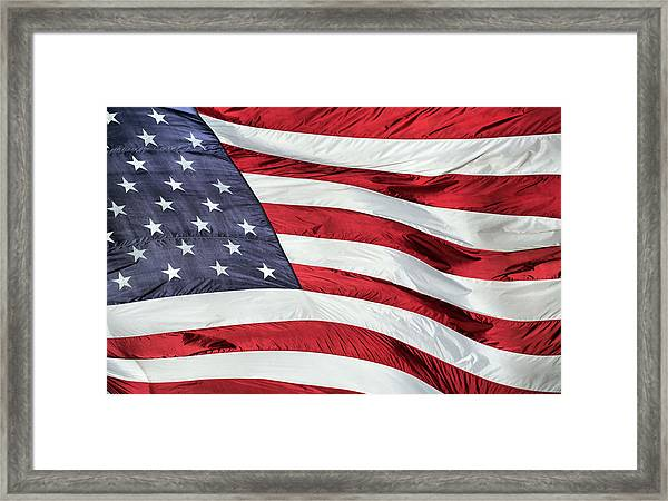Land Of The Free Framed Print