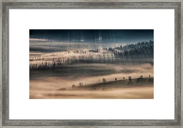 Land Of Thousands Shadows Framed Print