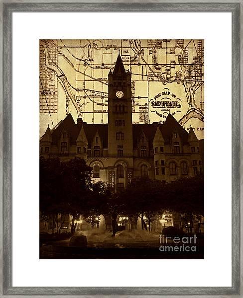 Landmark Center 2 Framed Print