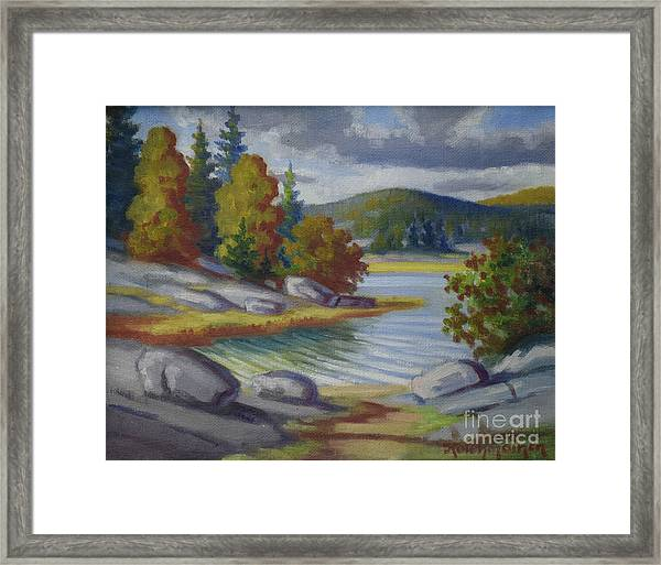 Landscape From Finland Framed Print