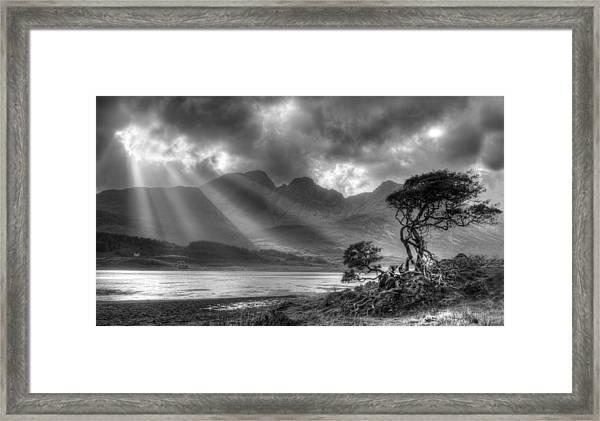 Landscape Scotland Framed Print