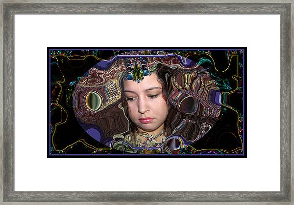 Lapislazuli Beauty Framed Print