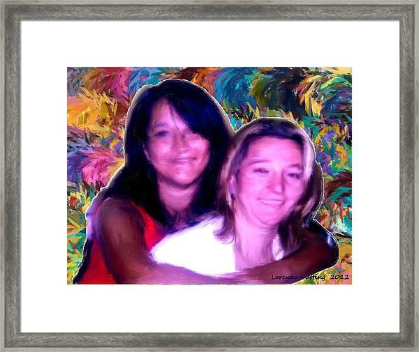 Las Maris Framed Print