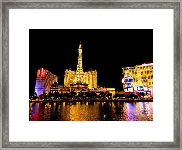 Las Vegas 012 Framed Print