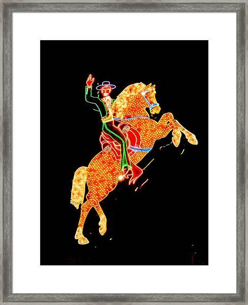 Las Vegas 065 Framed Print by Lance Vaughn