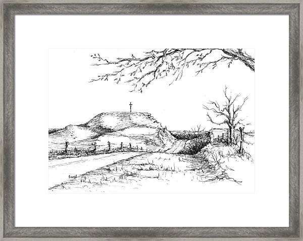 Last Hill Home Framed Print