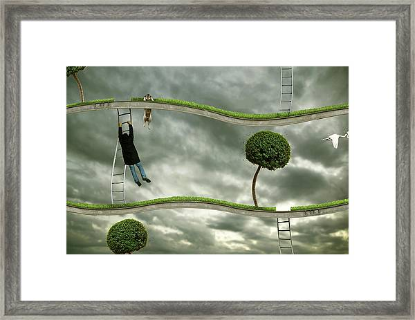 Last Level Framed Print
