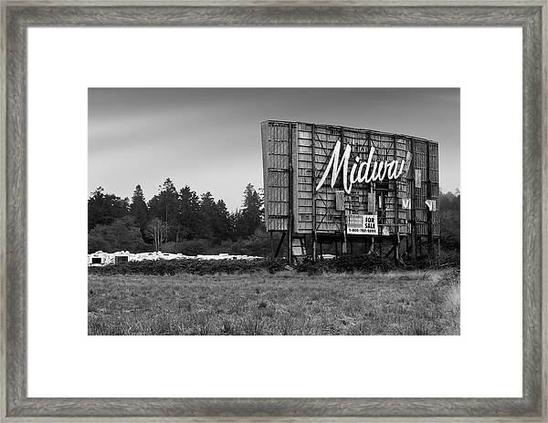 Last Picture Show Framed Print