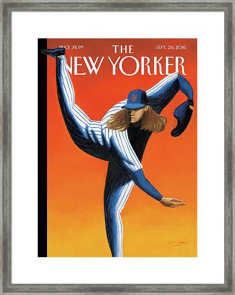 Late Innings Framed Print