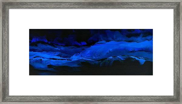 Late Night High Tide Framed Print