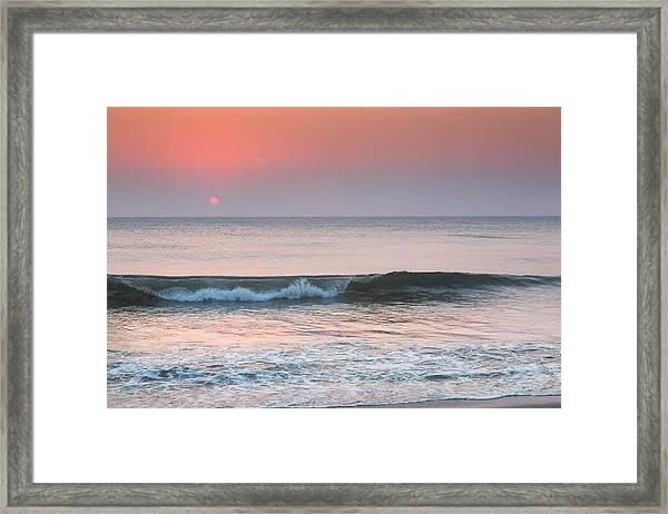 Late Summer Sunrise Framed Print
