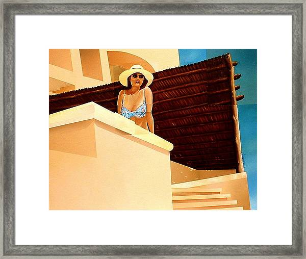 Latin Wind Framed Print by Laurend Doumba
