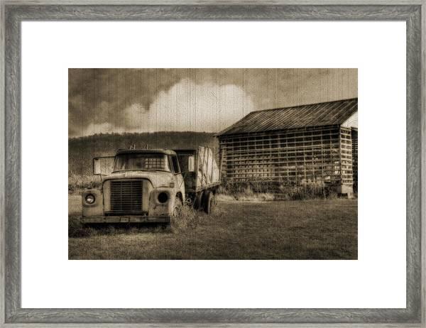 Latsha Lumber Company Framed Print