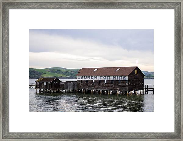 Framed Print featuring the photograph Launch For Hire by Priya Ghose