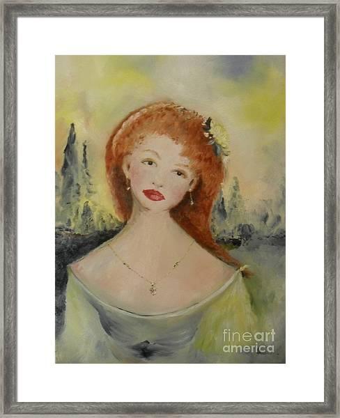Laurel Framed Print