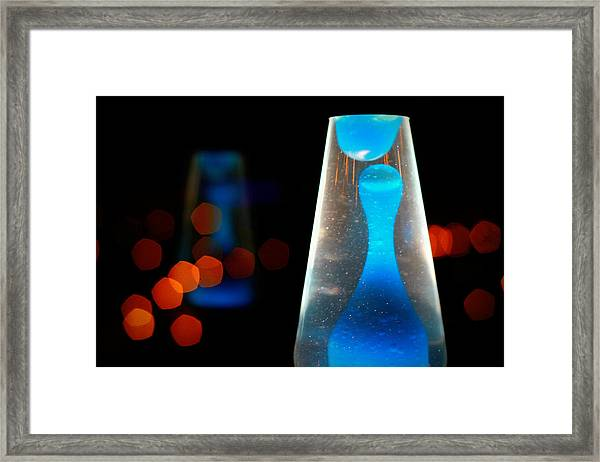 Lava Lamp Framed Print by Emac Images