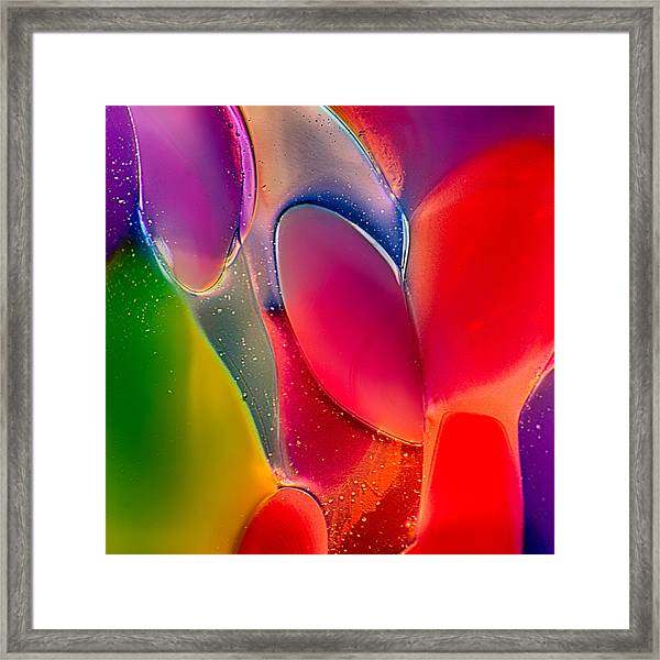 Lava Lamp Framed Print
