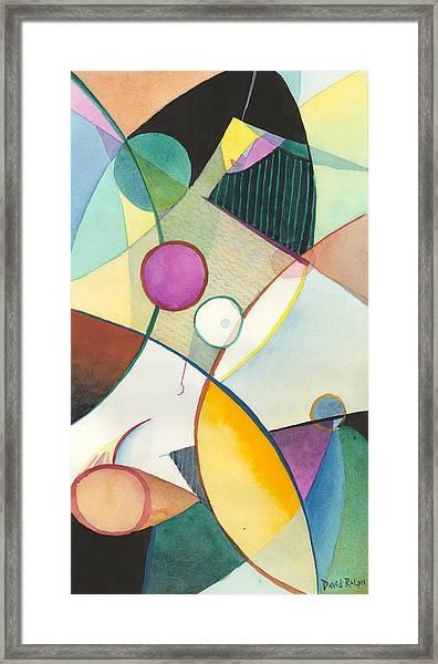 Lavendar Lily Framed Print
