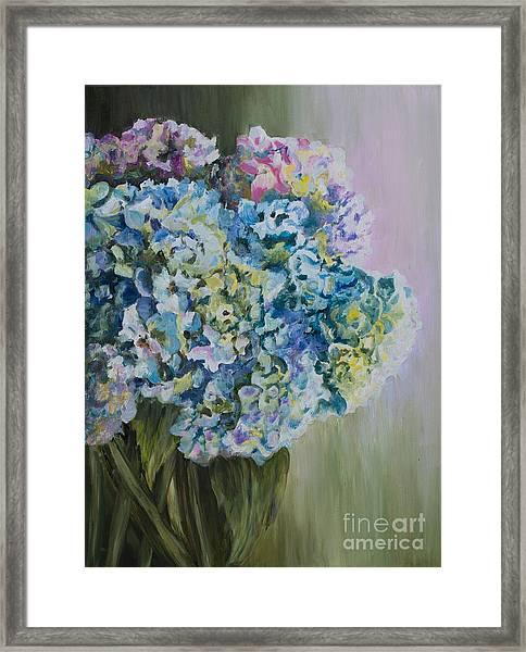 Lavender Glow Framed Print