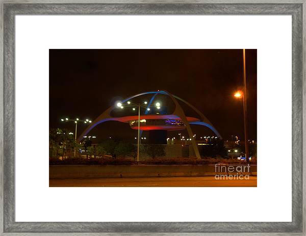 Lax Encounter Restaurant Framed Print